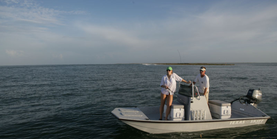 Majek Redfish Line Texas Skiff