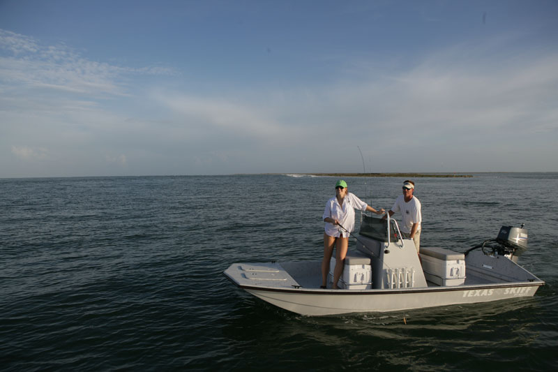 Majek Redfish Line Texas Skiff